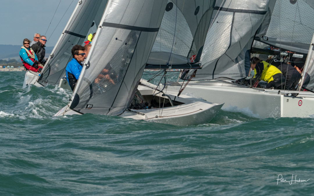 RS Elites at Chichester Harbour Race Week 2019